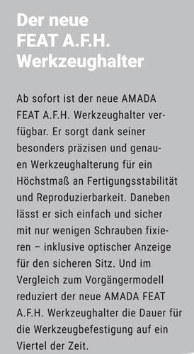Der neue FEAT A.F.H. Werkzeughalter