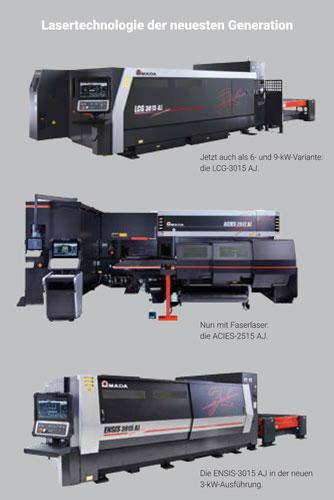 Lasertechnologie der neuesten Generation