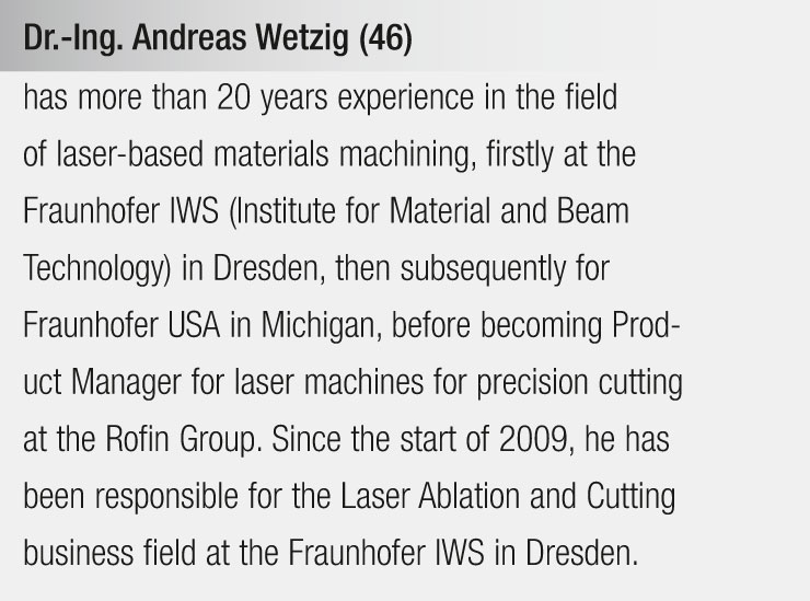 Dr.-Ing. Andreas Wetzig (46)